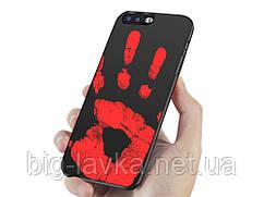 Матовый термочувствительный чехол Ranipo для  iPhone 7  Черный
