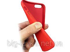 Матовый термочувствительный чехол Ranipo для  iPhone 7 Plus  Красный