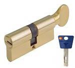 Цилиндр Mul-T-Lock 7х7 105мм.(50х55) ключ-тумблер (латунь)