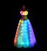 Led платье Noblest Art  свадебное (LY3205), фото 1