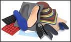 Устілки для взуття, матеріал для виготовлення устілок