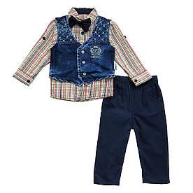 Нарядный костюм-тройка для мальчика. 98 см