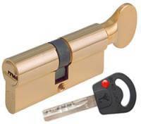 Цилиндр Mul-T-Lock CLASSIC  100мм.(50х50) ключ-тумблер (латунь)