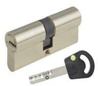 Цилиндр Mul-T-Lock INTERACTIVE 62мм.(27х35) ключ-ключ (матовый хром)