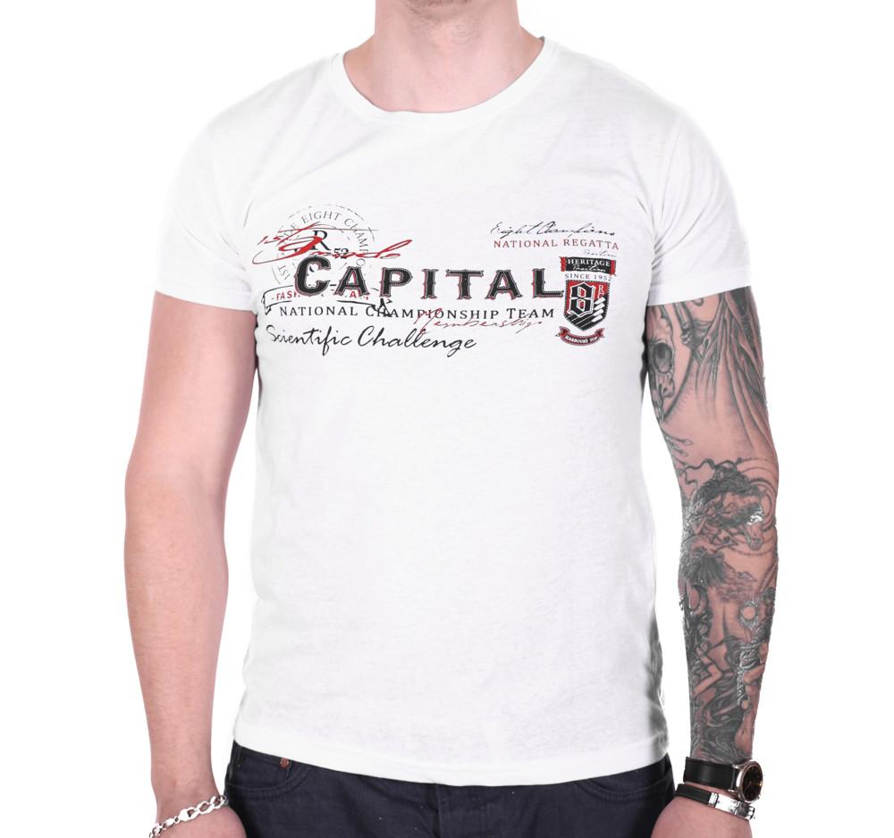 Футболка Rixon Capital f1905/3 Белая XL