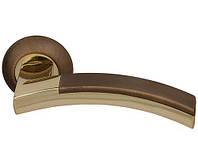 Ручка дверная раздельная Fuaro Accord RM AB/GP-7 бронза-латунь ()