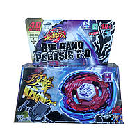 Волчек BEYBLADE Горячий Металл BB105 Big Bang Pegasis F:D