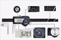 SHAHE 5117-150 цифровой трубный штангенциркуль, до 150 мм, фото 8