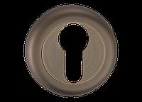 Накладка дверная под цилиндр MVM  E5a MAB - матовая античная бронза