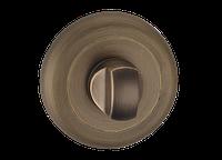 Поворотник под WC  T8а MAB - матовая античная бронза