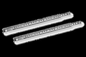 Направляющие для ящиков узкие 400 мм. шариковые