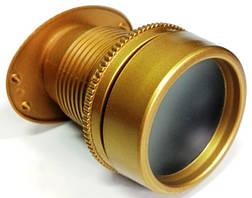 Глазок панорамный Handemet матовое золото