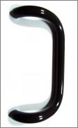 Ручка скоба D-20 коричневая для металлопластиковой двери