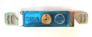 Замок для ролеты SIBA крестовый ключ