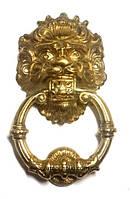 Дверной молоток Лев малый золото