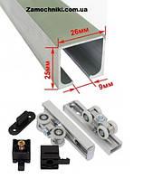 Раздвижная система EKF ESW-120100 40кг для межкомнатных дверей