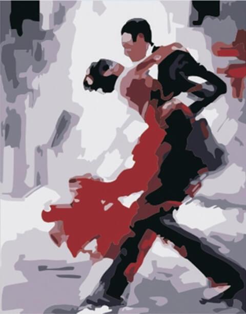 Картина по номерам Танго КНО121 Идейка