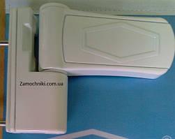 Петли Vorne 105 мм. для металлопластиковых дверей белая