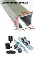 Раздвижная система EKF E-120100-01 40 кг для межкомнатных дверей