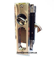 Ручки с замком для раздвижных дверей Sofia 808-18 SN