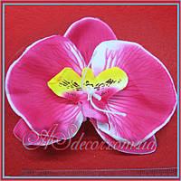 Головка орхидеи 12 см фуксия