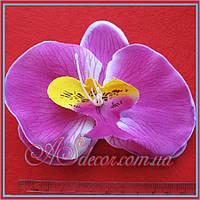 Головка орхидеи 12 см сиреневая