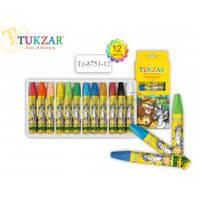 TZ 8751-12 Пастель масляная для детского творчества 12цв TUKZAR