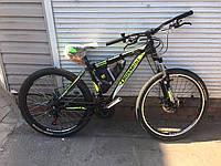 "Электровелосипед Cross bike модель Shark 26"" 350W 10,4А,ч 48V e-bike"
