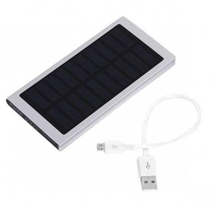 Зовнішній акумулятор Power bank Solar Slim, 89000 mAh