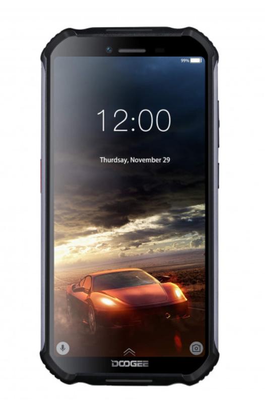 """Защищенный противоударный неубиваемый смартфон Doogee S40 Orange - IP68, 5,5"""" IPS, MTK 6739, 2/16 GB, 5000 mAh - фото 2"""
