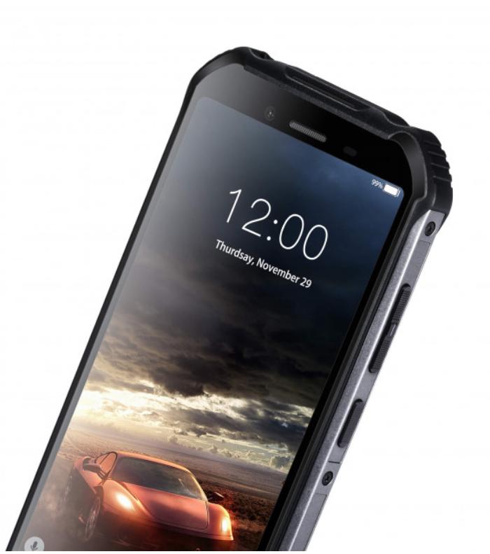 """Защищенный противоударный неубиваемый смартфон Doogee S40 Orange - IP68, 5,5"""" IPS, MTK 6739, 2/16 GB, 5000 mAh - фото 7"""