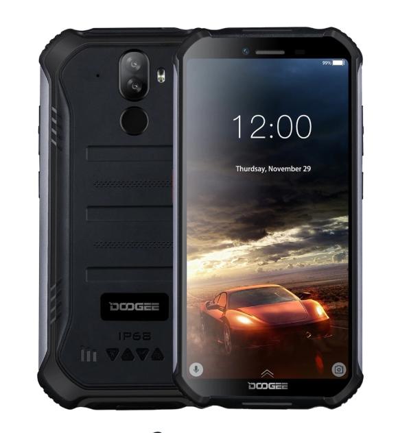 """Защищенный противоударный неубиваемый смартфон Doogee S40 Orange - IP68, 5,5"""" IPS, MTK 6739, 2/16 GB, 5000 mAh - фото 9"""