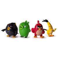 Angry Birds Злые Птички 4 мини фигурки 6027751 Collectible Figures 4-Pack