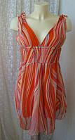 Платье женское летнее мини сарафан легкий бренд Influence р.44, фото 1