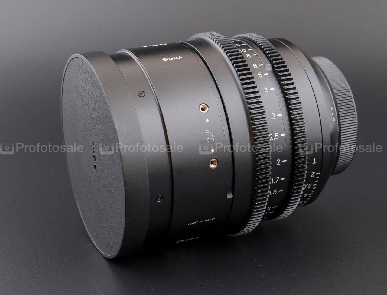 Кинообъектив Sigma 135mm T2.0