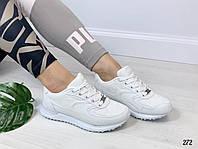 Кроссовки под бренд белые, фото 1