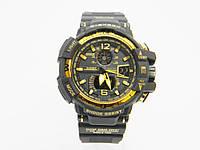 Часы CASIO G-SHOCK GWG-1100 реплика Черный с золотым