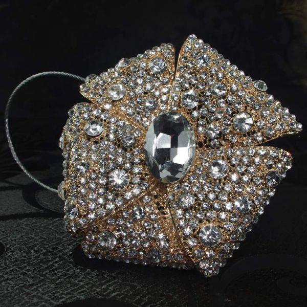 Декоративный магнит подхват для тюлей и штор № 1-102