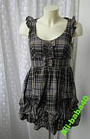 Платье женское сарафан модный хлопок мини бренд New Look р.42
