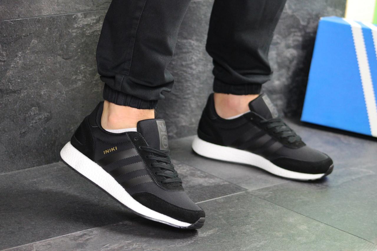 Чоловічі кросівки Adidas Iniki (чорні)