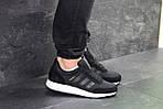 Чоловічі кросівки Adidas Iniki (чорні), фото 2