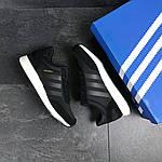 Чоловічі кросівки Adidas Iniki (чорні), фото 4