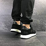 Чоловічі кросівки Adidas Iniki (чорні), фото 5