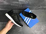 Чоловічі кросівки Adidas Iniki (чорні), фото 6