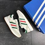 Мужские кроссовки Adidas Iniki (белые) , фото 3