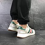 Мужские кроссовки Adidas Iniki (белые) , фото 6