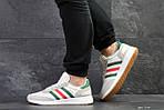 Мужские кроссовки Adidas Iniki (белые) , фото 4