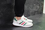 Мужские кроссовки Adidas Iniki (белые) , фото 5