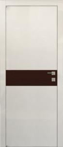 Межкомнатная дверь Авангард Модель А2.S серия STYLE со стеклом крашеным по RAL