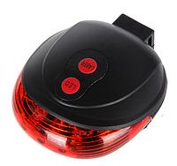 Стоп светодиодный с лазерными указателями для велосипеда